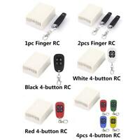 433MHz DC12V 4-CH Wireless Remote Control Switch Transmitter+Receiver Relay
