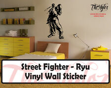 Street Fighter-Ryu Epic Custom Oversize Vinyl Wall Sticker