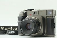 【NEAR MINT+++ w/ Hood】 Mamiya 7 Medium Format Film Camera N 80mm F4 L Lens Japan