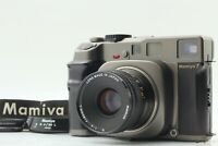 【NEAR MINT w/ Hood】 Mamiya 7 Medium Format Film Camera w/ N 80mm F4 L Lens Japan