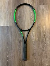 NEW Wilson Blade 98 18x20 Pro Stock 4 3/8, Glossy Paint, Actual Racket 2013 BLX
