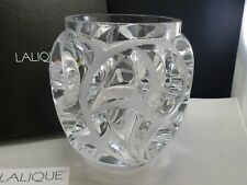 LALIQUE TOURBILLONS VASE , CLEAR - AUTHENTIC - NEW IN BOX $5400 RETAIL