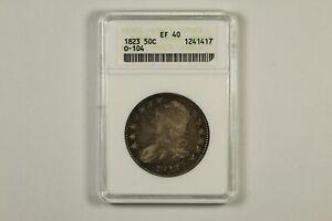 1823 Capped Bust Half Dollar ANACS EF40