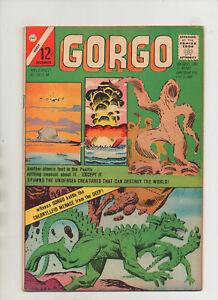 Gorgo #16 - Atomic Testing Cover Battle With Chloryllfid! - (Grade 7.0) 1963