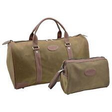 Mens Overnight Weekend Holdall Bag & Shaving Toiletry Toiletries Bag