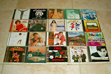 Mixed Lot of 20 Spanish Latin Cuban CD's Lote CD All Used SEE PICS Collection #2