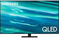 "Samsung QN65Q80AAFXZA 65"" 4K Smart QLED LED TV QN65Q80A 10 Bit 2021"