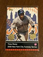 2000 World Series Topps Baseball Base Card - Timo Perez - New York Mets