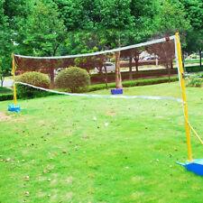 Professional Badminton Volleyball Tennis Sport Net Portable Standard Training US