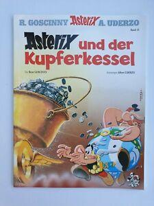 Asterix & Obelix Comic Band 13 ASTERIX UND DER KUPFERKESSEL  ungel. 1A TOP Zust