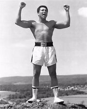 "MUHAMMAD ALI LEGENDARY BOXER ""THE GREATEST"" - 8X10 PUBLICITY PHOTO (ZY-154)"