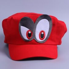 Game Super Mario Odyssey Cap Cosplay Red Mario Hat Adult Kids Props Handmade New
