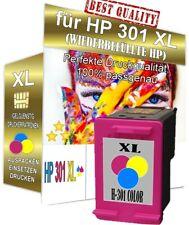 1 Patrone für HP 301-XL DeskJet 1000 1050A 2050A 2540 3050A 1010 1510 1512 Color