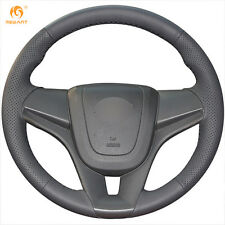 DIY Leather Steering wheelCover for Chevrolet Cruze 2009-2014 Aveo Holden Cruze