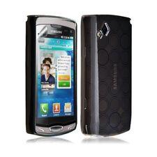 coque gel hydro pour Samsung Wave 2 S8530 couleur noir
