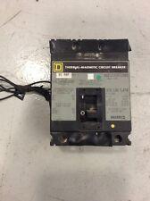 Square D Circuit Breaker Fal340901037 90 Amp 480 Volt 3 Pole Shunt Trip