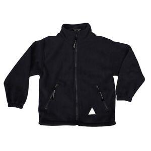Zeco Kids Child  School Uniform Plain Polar Fleece Zip Jacket (3yrs-Adult XL)