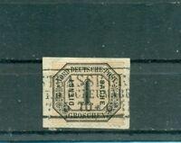 Norddeutscher Bund,Wertziffer in Kreisen, Nr. D 4 Stempel Strassburg