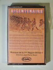 + K7 Audio -  Bicentenaire - Musique 1ère région militaire - JP Revoil - neuf +
