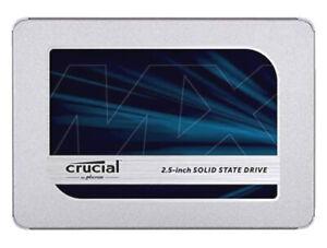 "CRUCIAL MX500 SSD - 500GB SSD - 2.5"" SOLID STATE HARD DRIVE - CT500MX500SSD1"