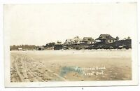 Lambton County FOREST ONTARIO Ipperwash Beach  - Real Photo Postcard
