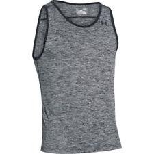 Camisetas de hombre Under armour color principal negro de poliéster