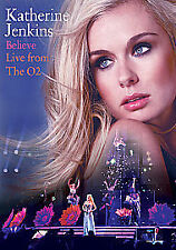 Katherine Jenkins - Believe - Live From The O2 (DVD, 2010)