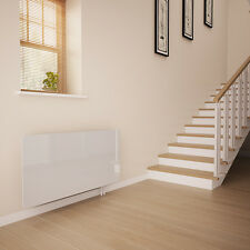 White Glass Radiator Cover For The Hall - Large