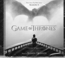 GAME OF THRONES - SEASON 5 - ORIGINAL TV SOUNDTRACK    *NEW 2015 CD ALBUM*