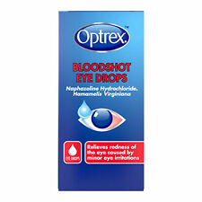 Optrex Bloodshot Eye Drops for Irritated Red Eyes 1 x 10ml | UK PHARMACY STOCK