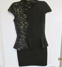 CARIBBEAN QUEEN BLACK COCKTAIL DRESS SIZE SMALL