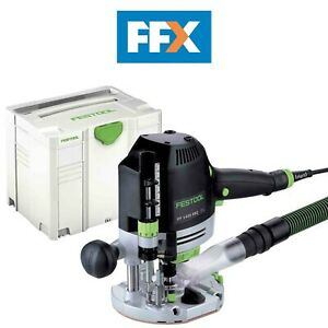 Festool OF1400 EQ-Plus 110v 1400w Router in Systainer 4 T-LOC 574344