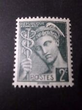 FRANCE, 1938-41, timbre 405, TYPE MERCURE, neuf**, VF MNH STAMP