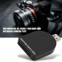 High Speed Portable Mini USB 3.0 XQD Card Reader Hub Transfer Tool Card Adapter