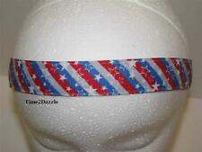 Non slip Headband adjustable no slip Sweaty Sports Hair Bands America Stripe