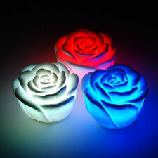 Romantic rose flower RGB LED color changing Night light Decoration life Tasteful