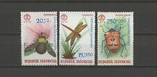 Animals, Insects-Indonesia - 682-684 * Mnh 1970