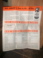 Red Arrow Garden Spray Agricultural Advertisement Pamphlet