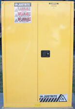 Justrite 894520 45 gallons Sure-Grip Ex Flammable Liquid Safety Storage Cabinet