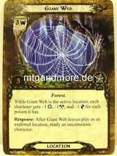 Lord of the Rings LCG  - 2x Giant Web  #026 - On the Doorstep