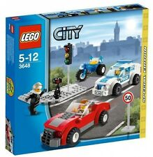 3648 POLICE CHASE exclusive emergency resuce LEGO legos city town SEALED NEW set