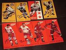 LOT OF 50 AUTOGRAPHED PARKHURST TALL BOYS CARDS -HOF-DECEASED