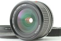 [MINT] Minolta New MD 20mm F/2.8 MF Lens Wide Angle Lens w/ Hood From Japan #036