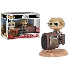 Funko POP !   - 174 - Rey with Speeder - Galactic Convention -Star Wars - NEW!!!