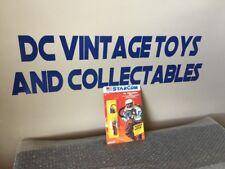 Vintage 1986 StarCom Coleco COL. John Griffin  Case Fresh Unpunched Look!