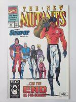 THE NEW MUTANTS #99 (1991) MARVEL 1ST SHATTERSTAR! FERAL! WARPATH! ROB LIEFELD!
