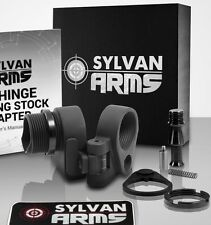 Sylvan Arms Hinge Folding Stock Adapter Fits Mil-spec or Commercial Tube / Stock