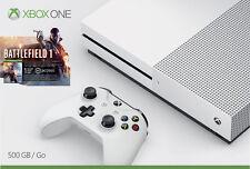 Microsoft - Xbox One S 500GB Battlefield1 Console Bundle with 4K Ultra HD B...