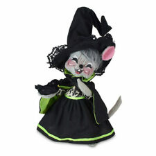 Annalee Dolls 2021 Halloween 6in Ghostly Witch Mouse Plush New with Tag