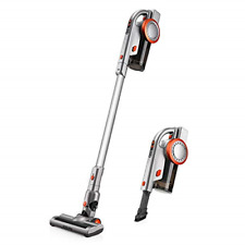 Puppyoo A9 Cordless Vacuum Cleaner, 17Kpa/200W Power Suction, Pro Brushless with